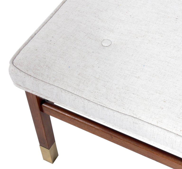 American Clean Lined Stool in the Manner of Harvey Probber For Sale