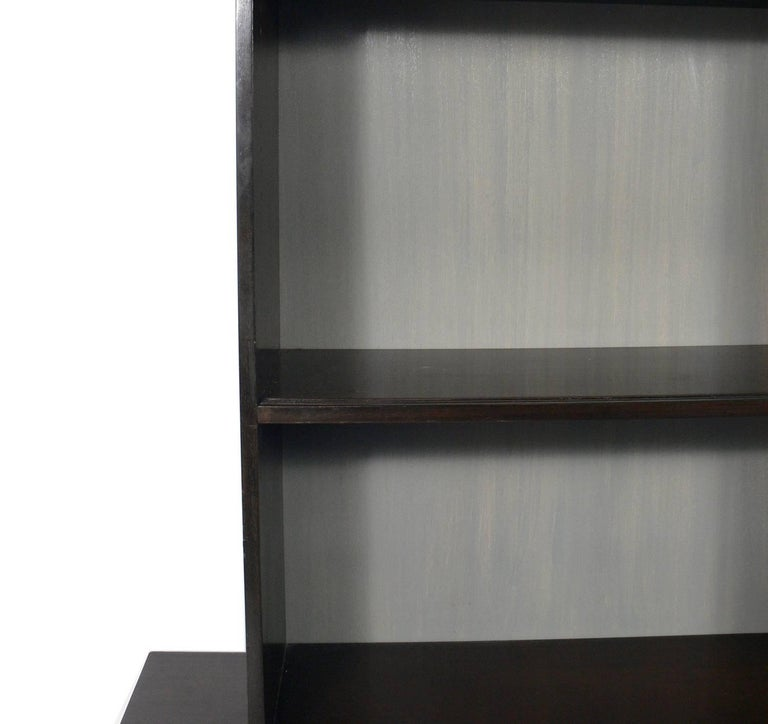 Harvey Probber Two-Part Cabinet or Credenza In Good Condition For Sale In Atlanta, GA