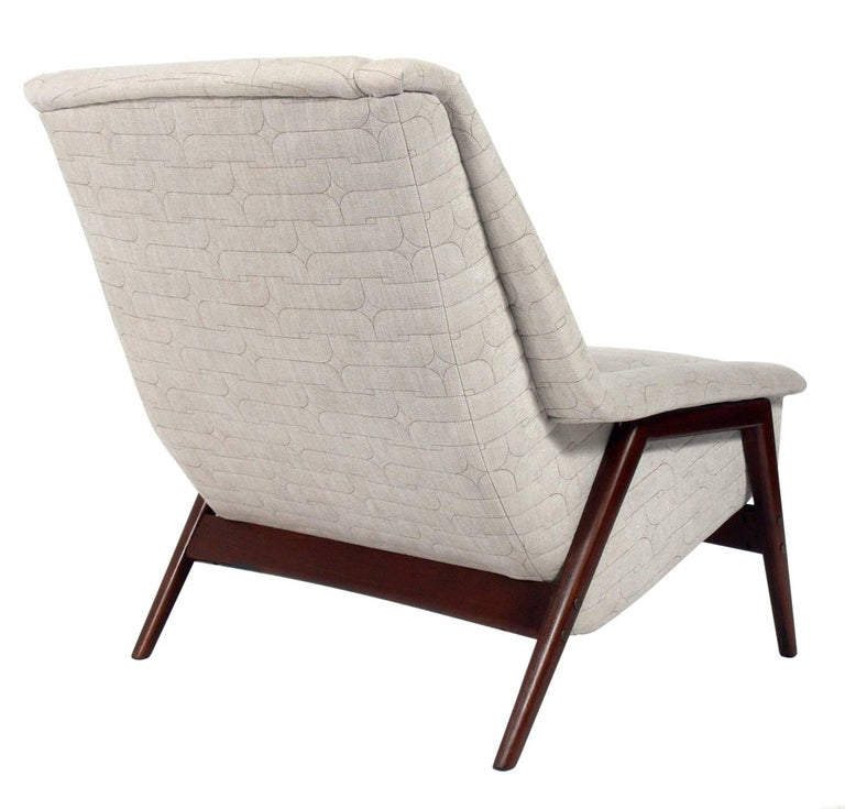 Danish Modern Lounge Chair By Folke Ohlsson For Sale At 1stdibs