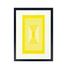 """Josef Albers Original Signed Screen-Print """"Introitus"""""""