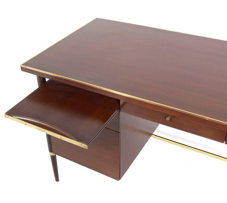 American Clean Lined Modern Desk by Paul McCobb For Sale