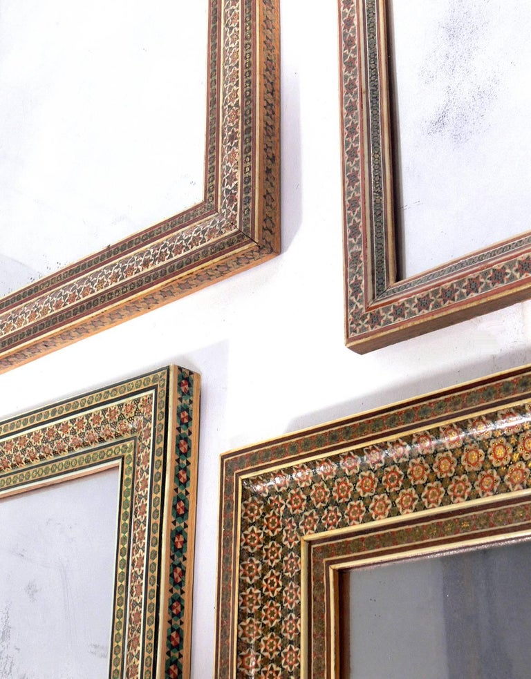 Collection of Moroccan Mosaic Framed Mirrors For Sale 2