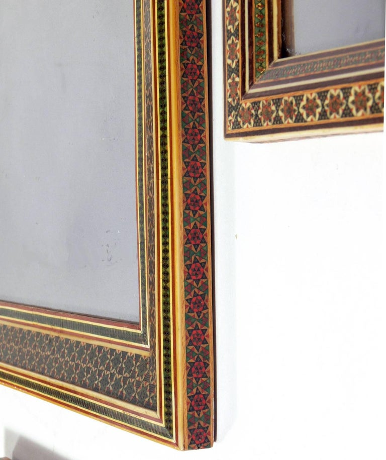 Collection of Moroccan Mosaic Framed Mirrors For Sale 4