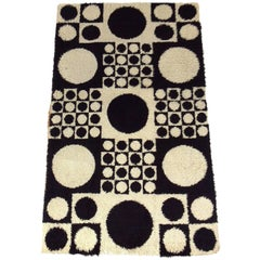 Verner Panton Geometri Carpet or Wall Tapestry