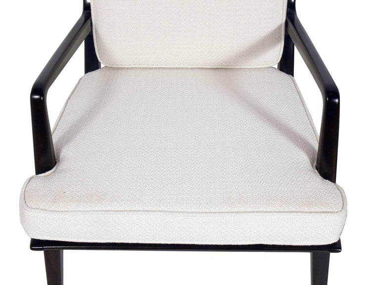 American Pair of Lounge Chairs by Carlo di Carli For Sale