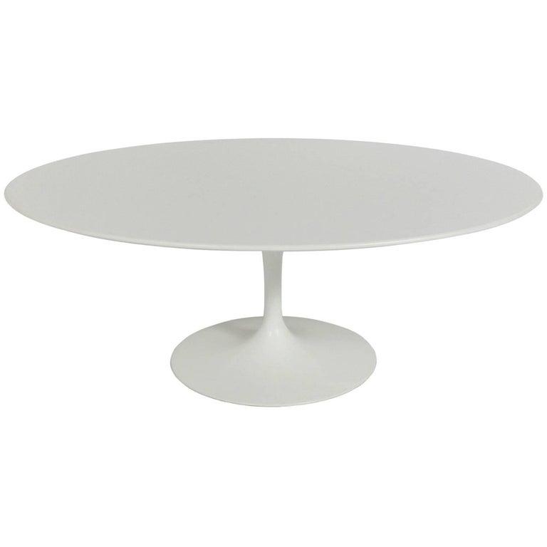 Oval Tulip Coffee Table: Oval Tulip Coffee Table By Eero Saarinen For Knoll For