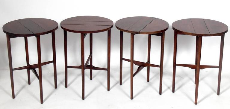 American Bertha Schaefer Nesting Tables  For Sale