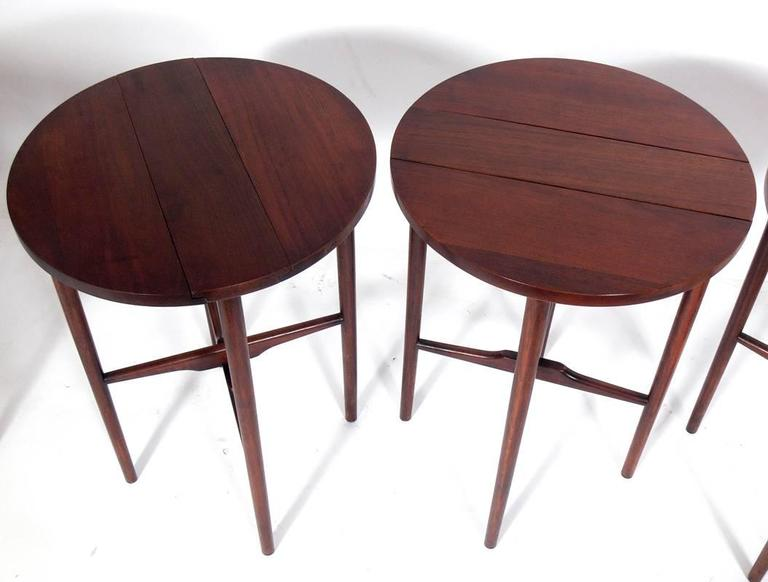 Bertha Schaefer Nesting Tables  In Good Condition For Sale In Atlanta, GA
