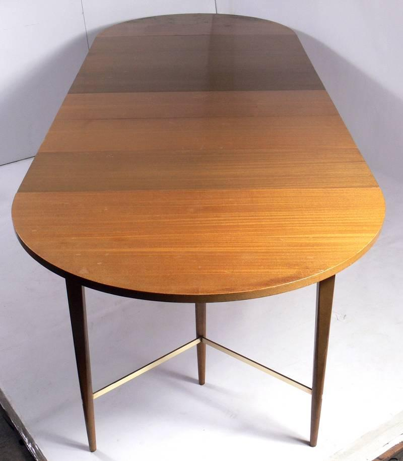 paul mccobb modern dining table seats 4 12 guests at 1stdibs. Black Bedroom Furniture Sets. Home Design Ideas