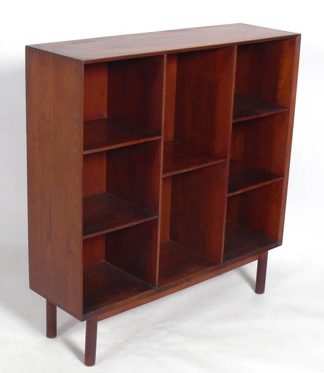 Danish Modern Burmese Teak Bookshelf Designed By Peter Hvidt And Orla Mlgaard Nielsen