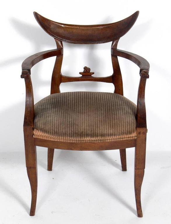 American Selection Of Hollywood Regency Desk Chairs For