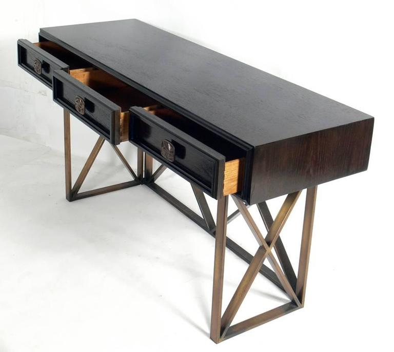Elegant Console Table Or Desk At 1stdibs