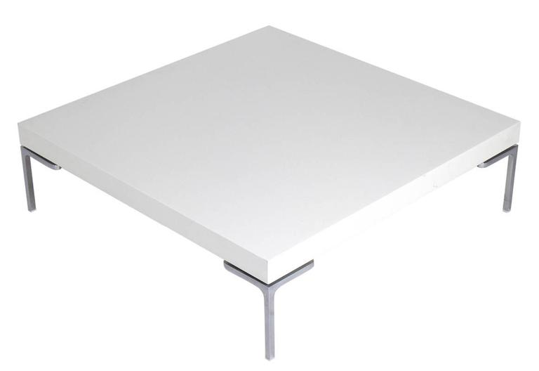 Clean Lined Coffee Table by Antonio Citterio for B&B Italia