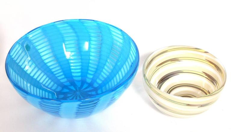 Selection Of Art Glass Vases And Bowls At 1stdibs