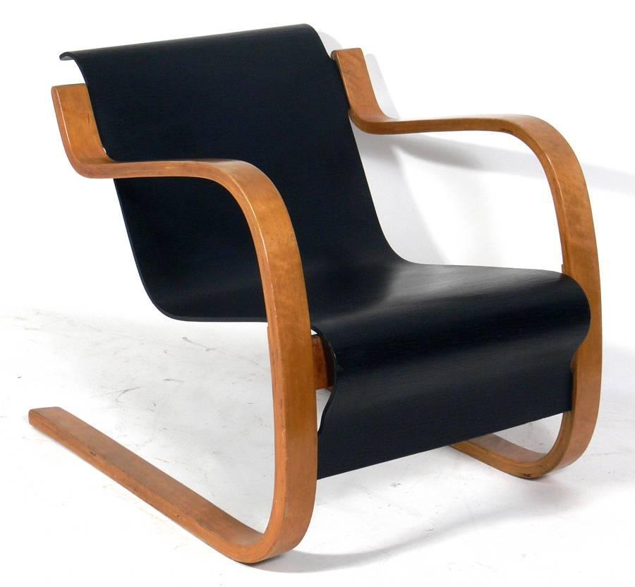 Cantilever Lounge Chair Model 31 42 By Alvar Aalto For