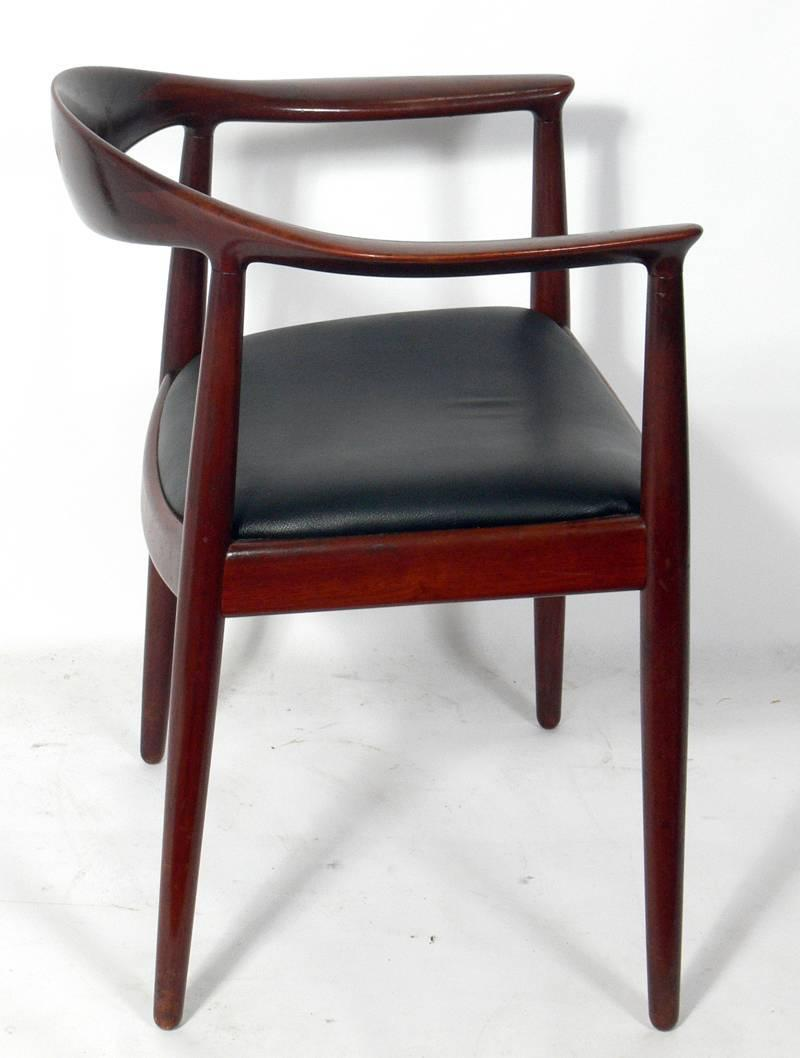 Set Of Four The Chairs By Hans Wegner For Johannes Hansen At 1stdibs