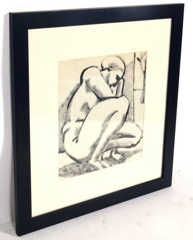 American Selection of Black and White Nude Artwork For Sale