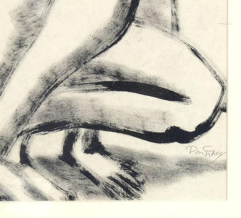 Selection of Black and White Nude Artwork In Good Condition For Sale In Atlanta, GA