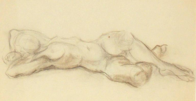 Selection of Black and White Nude Artwork For Sale 3