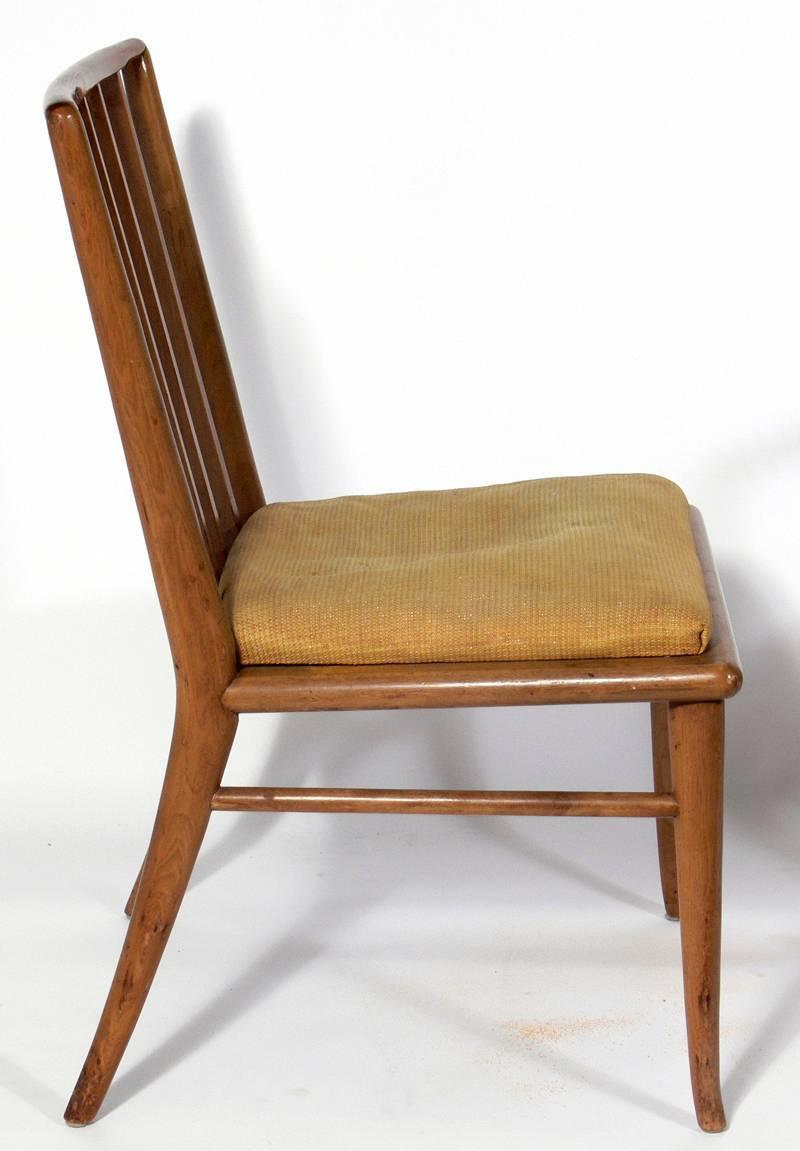set of six dining chairs by t h robsjohn gibbings for sale at