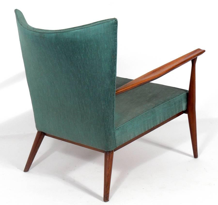 Modernist Lounge Chair by Paul McCobb For Sale at 1stdibs