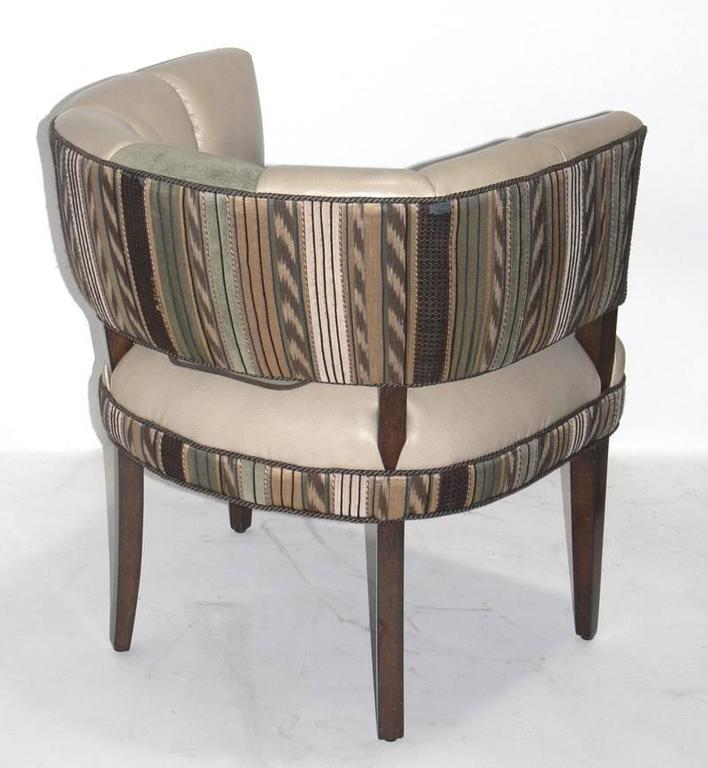 American Pair of Curvaceous Chairs Designed by Gilbert Rohde For Sale