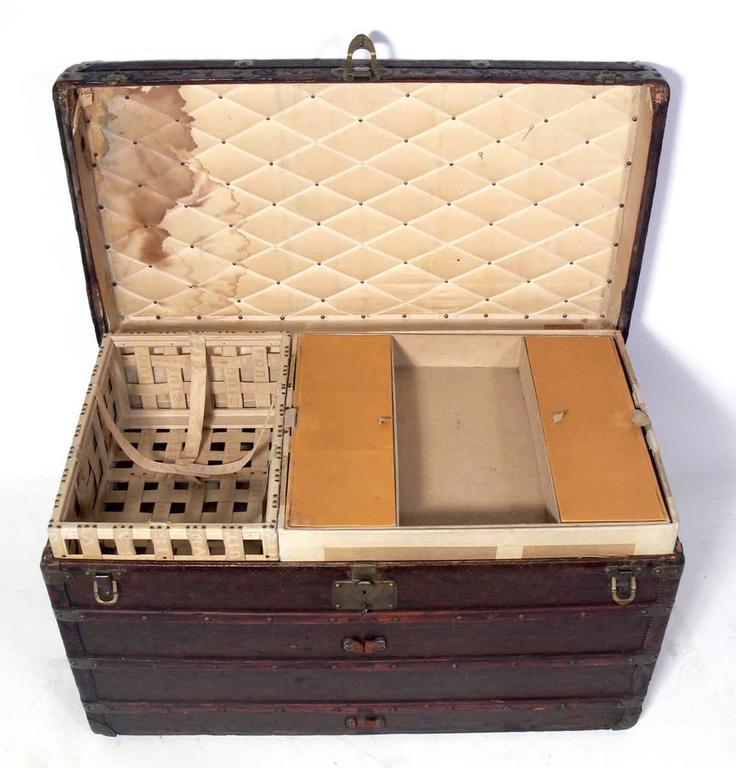 Louis Vuitton Wardrobe Steamer Trunk 5