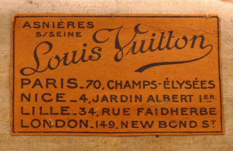 Louis Vuitton Wardrobe Steamer Trunk 7