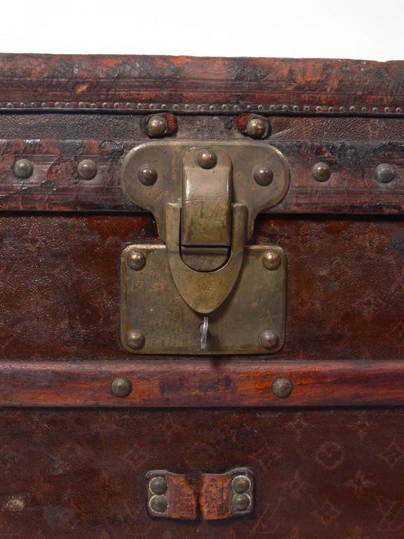Louis Vuitton Wardrobe Steamer Trunk 8