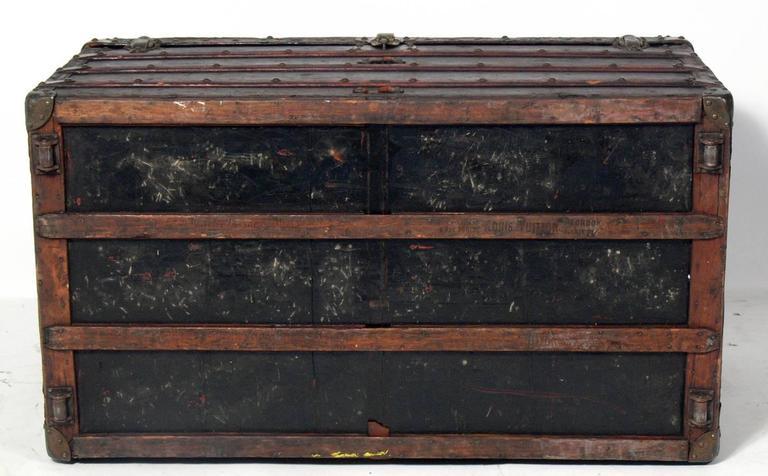 Louis Vuitton Wardrobe Steamer Trunk 10