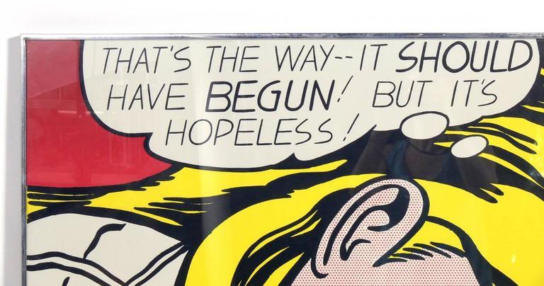 (after) Roy Lichtenstein 1968