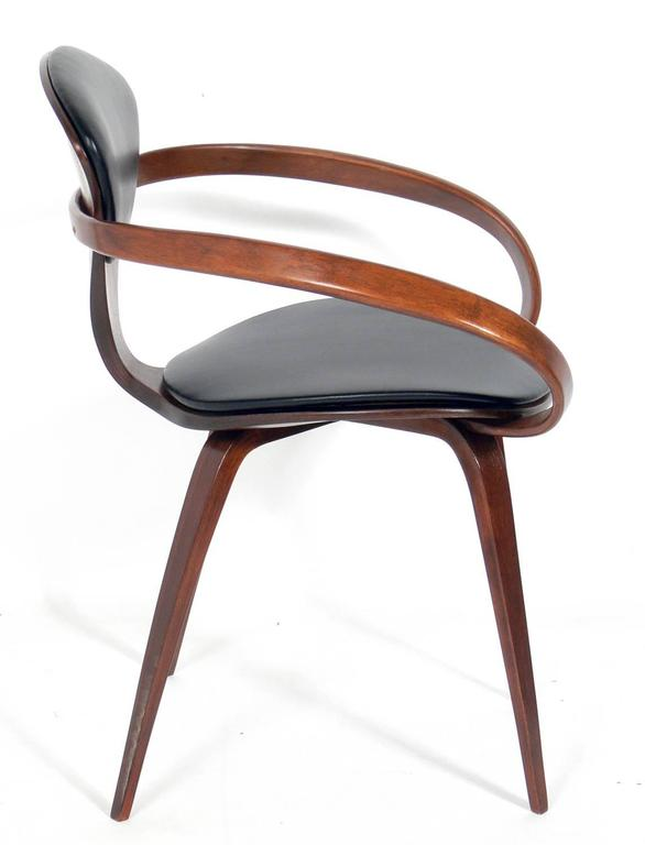 Set Of 12 Sculptural Dining Chairs, Designed By Norman Cherner For Plycraft,  American,