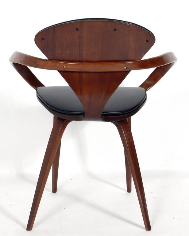 set of 12 sculptural dining chairs by norman cherner for plycraft 3