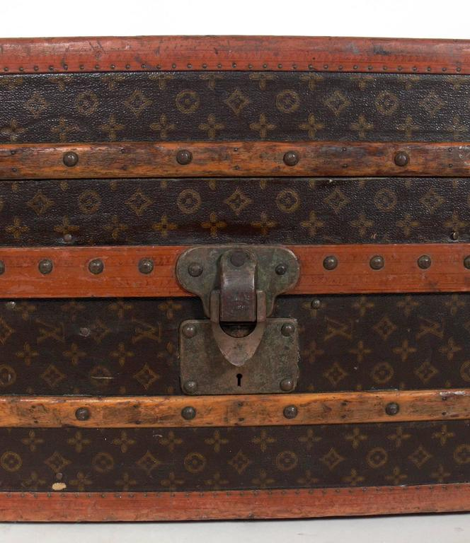 Lv Trunk Coffee Table: Louis Vuitton Vintage Trunk Or Coffee Table At 1stdibs