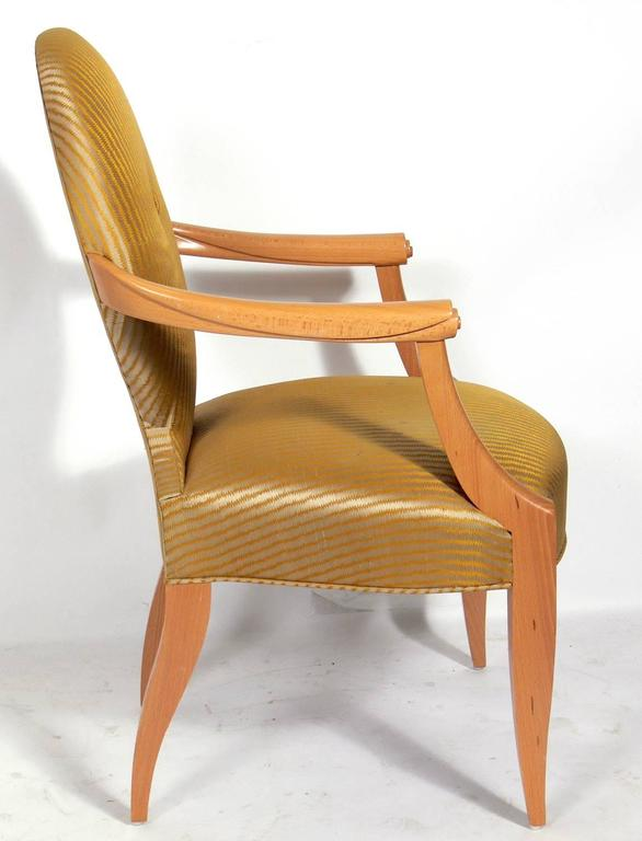 Genial Mid Century Modern Elegant Armchair Designed By John Hutton For Donghia For  Sale