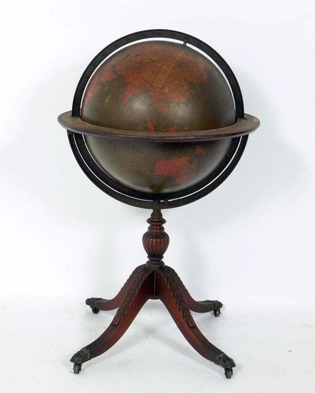 Antique Library Globe 2