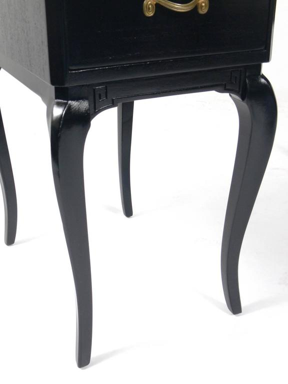 Tremendous Glamorous French Black Lacquer Desk And Chair At 1Stdibs Onthecornerstone Fun Painted Chair Ideas Images Onthecornerstoneorg