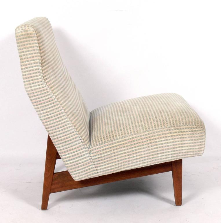 Modernist Slipper Chair By Jens Risom For Sale At 1stdibs