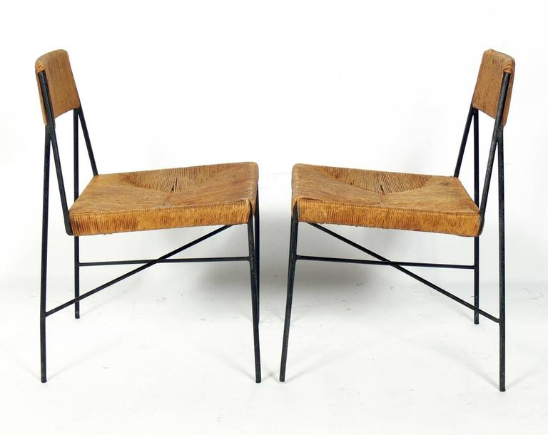 Rare Low Slung Lounge Chairs By Arthur Umanoff For Shaver