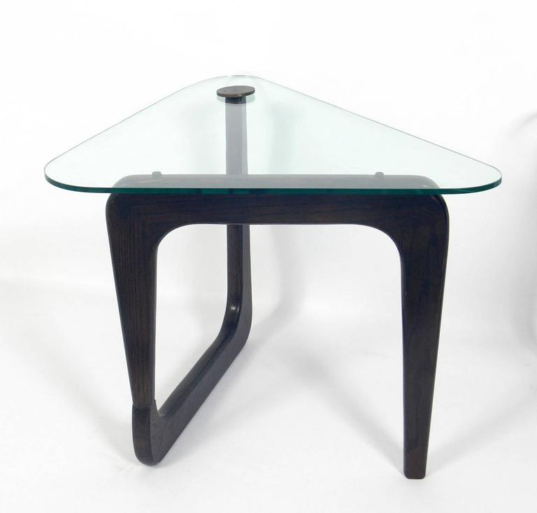 Mid-Century Modern Sculptural Modernist Side Tables in the Manner of Isamu Noguchi For Sale