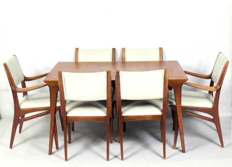 Mid Century Modern Dining Table By John Van Koert For Drexel At 1stdibs