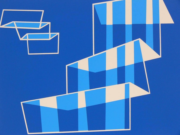 Mid-Century Modern Lithographs by Josef Albers from Formulation and Articulation For Sale