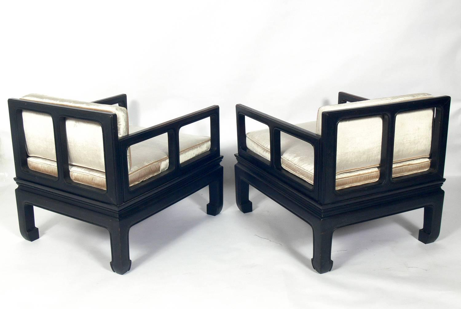 Low Slung Asian Style Lounge Chairs For Sale At 1stdibs