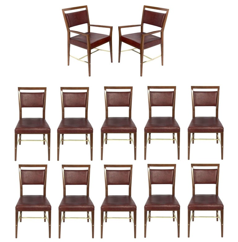 Set of 12 Dining Chairs by Paul McCobb