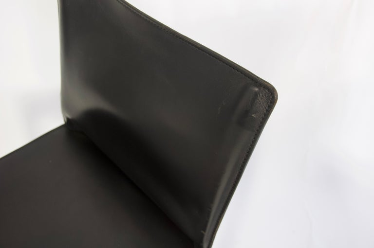 Pair of Black Leather