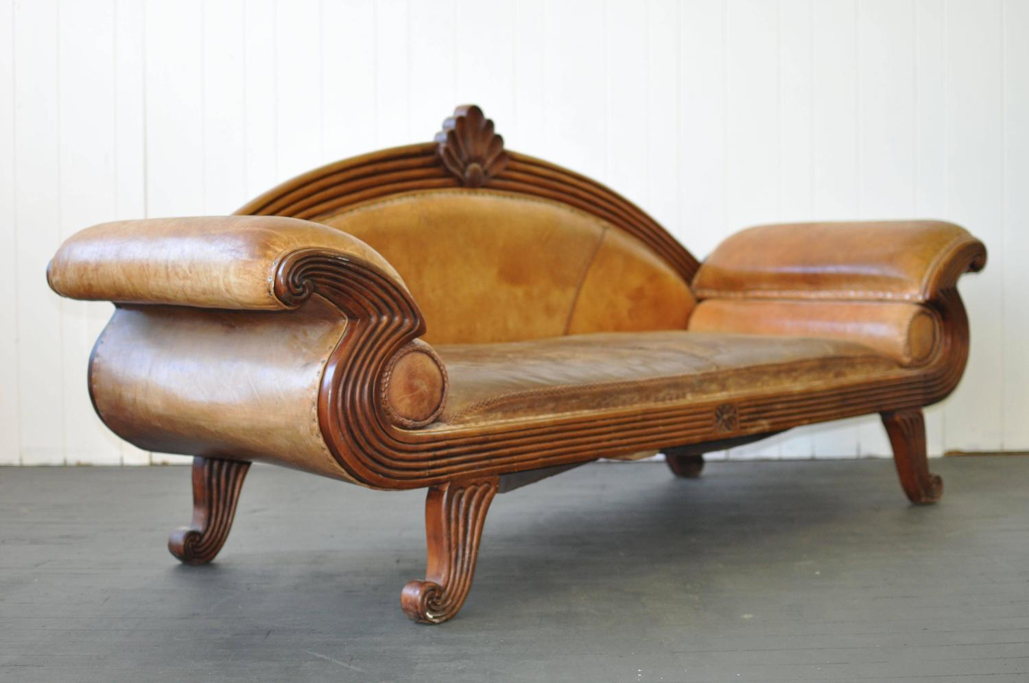 Early 20th century european leather sofa for sale at 1stdibs for European leather sofa