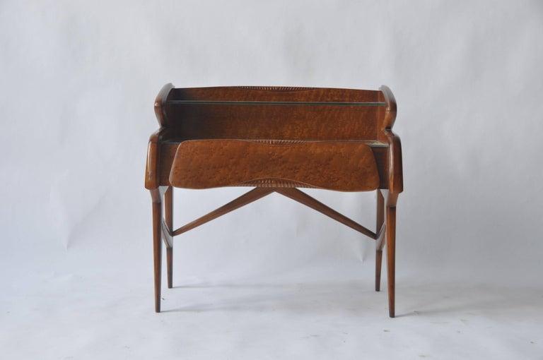 Pair of 1950s Italian Nightstands For Sale 2