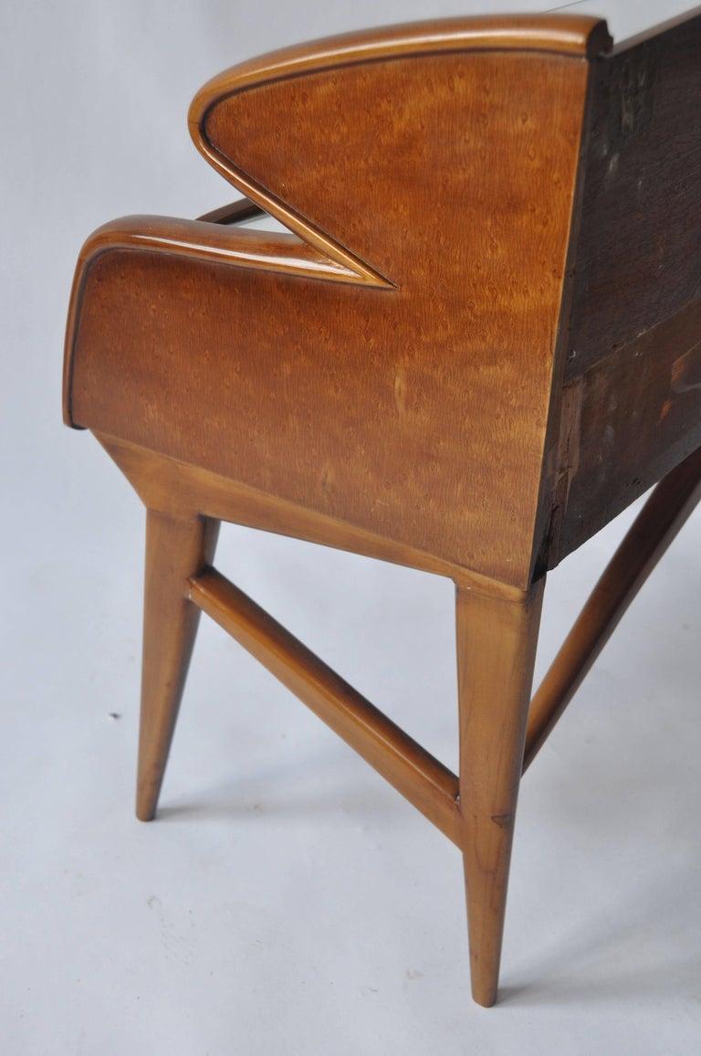 Pair of 1950s Italian Nightstands For Sale 4