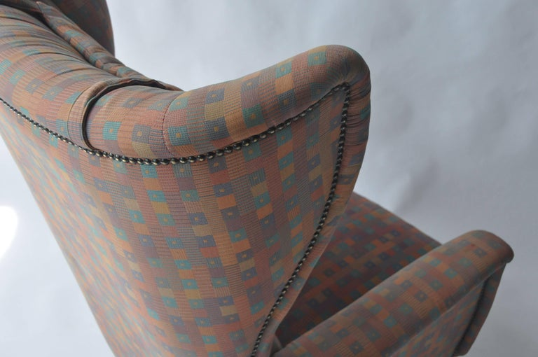 20th Century 1950s Wingback Chair For Sale