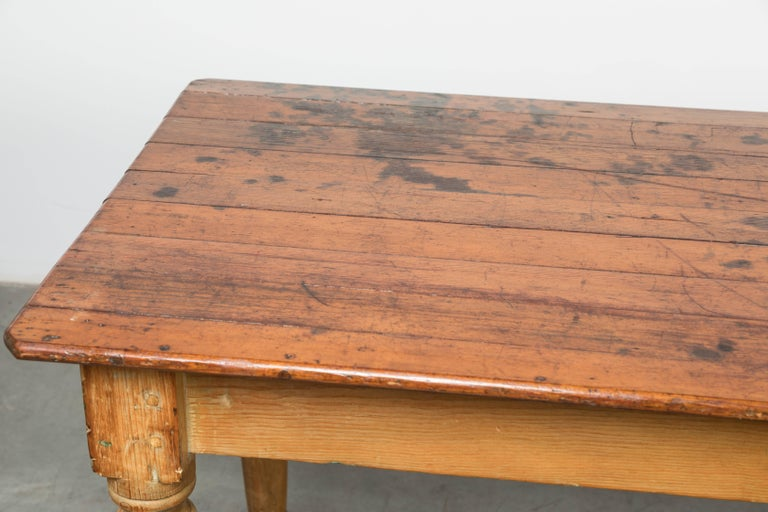 Late 19th Century American General Store or Harvest Table For Sale 1